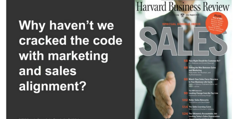 B2B Buyers Make the Case for Better Marketing and Sales Alignment