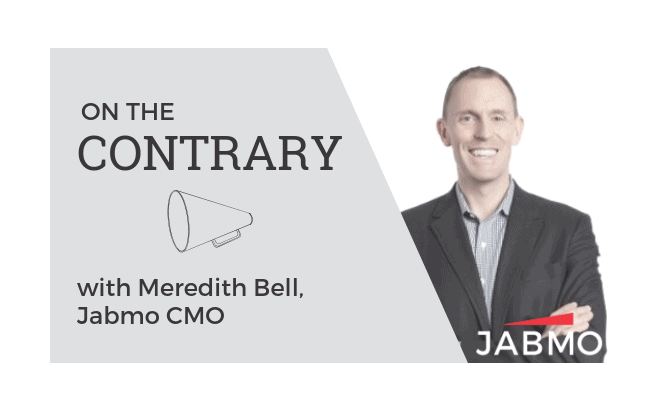 ON THE CONTRARY: ABM Shouldn't Replace Marketing Automation